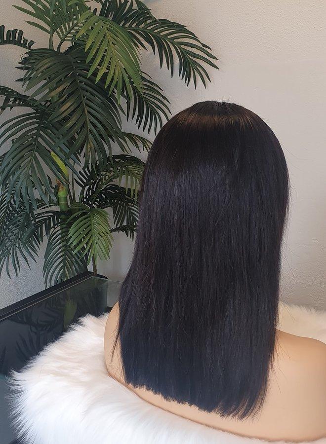 "Frontal Wig Bob Remy Hair 12"""