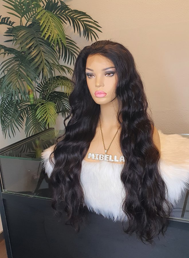 """Frontal Wig Body Wave Remy Hair 26"""""""