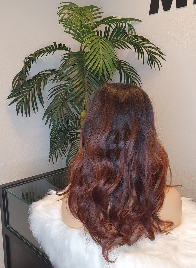 """Closure Wig 16"""" Body Wave Raw* Indian Hair 