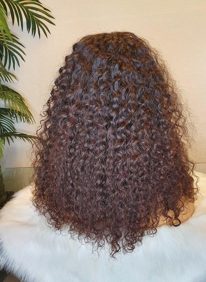 "5x5 HD Closure Wig Raw*  Indian Caribbean Curly 16"" | 330 gram"