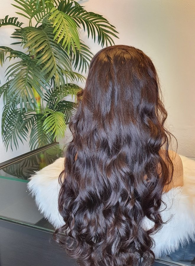 """HD Frontal Wig Body Wave Remy Hair 26"""" 