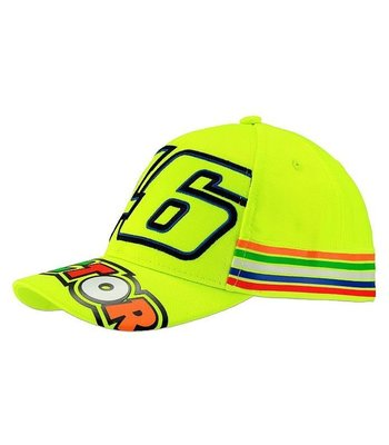 VR46 46 Stripes Kid Cap