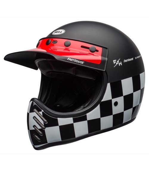 Bell Moto-3 Fasthouse Checkers