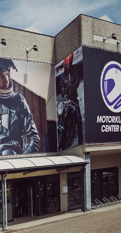 Oprichting bedrijf Motorkledingcenter