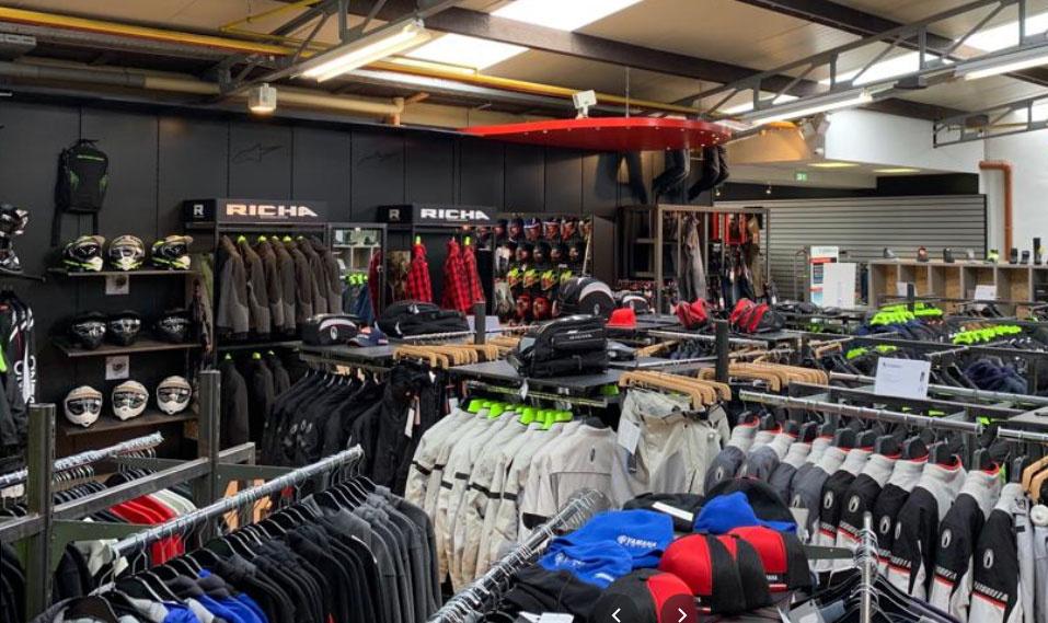 Nog een impressie van Motorkledingcenter Beringen store afbeelding nummer 6