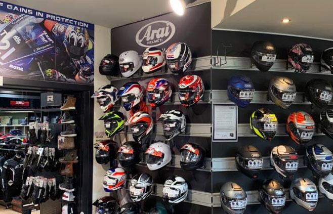 Nog een impressie van Motorkledingcenter Beringen store afbeelding nummer 1