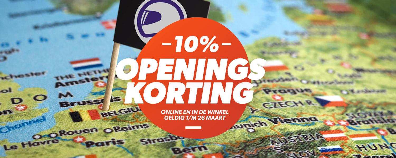 Medio maart 2017 opening superstore België