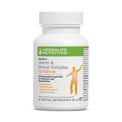 Vitamin & Mineral Komplex für Männer - Herbalife Formula 2
