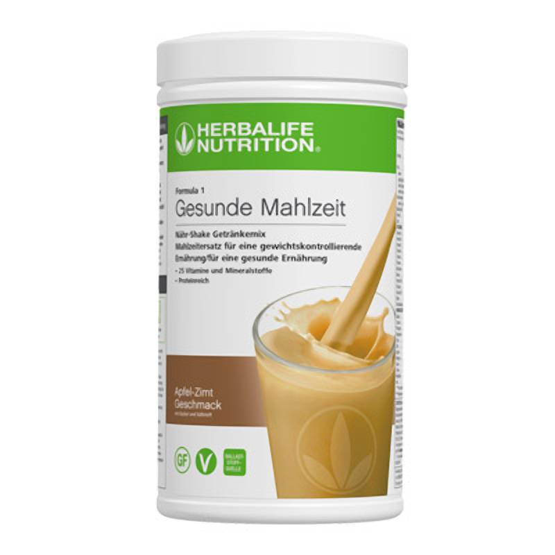 Herbalife Formula 1 Nähr-Shake Getränkemix - Apfel-Zimt - Vegane Zutaten