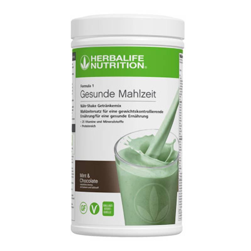 Herbalife Formula 1 Healthy Meal - Mint & Chocolate - vegan ingredients