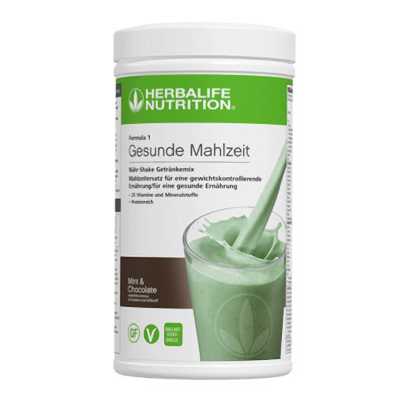 Herbalife Formula 1 Nähr-Shake Getränkemix - Mint & Chocolate - Vegane Zutaten