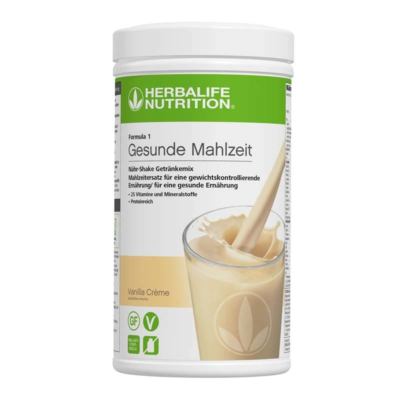 Herbalife Formula 1 Healthy Meal - Vanilla Cream - vegan ingredients