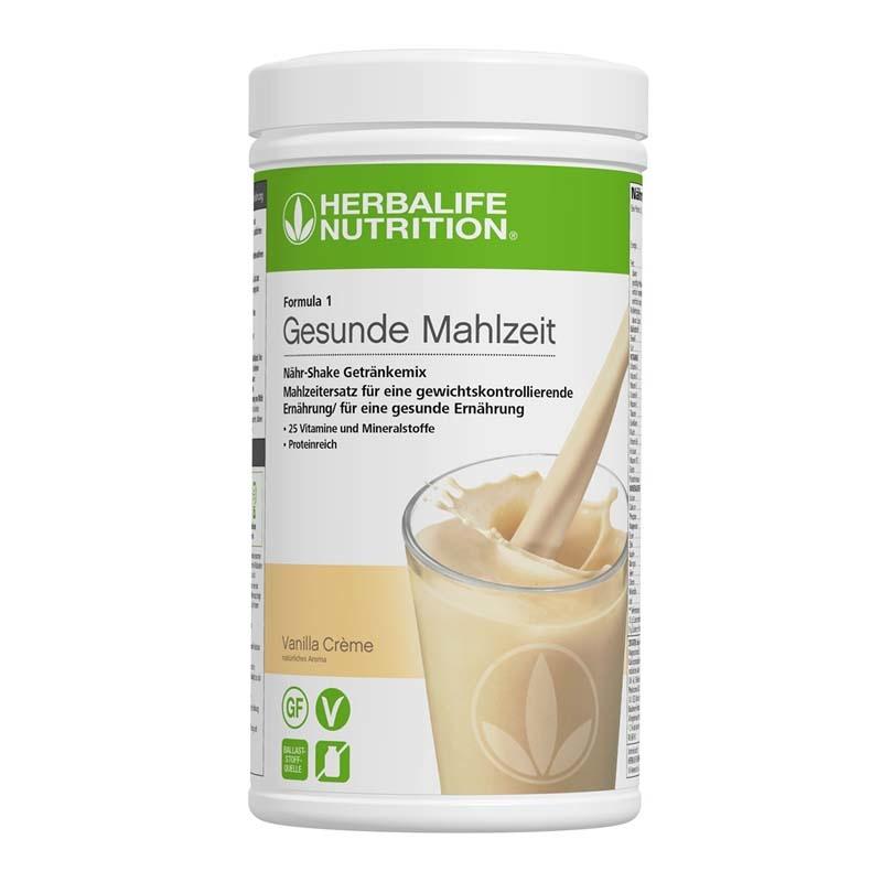 Herbalife Formula 1 Nähr-Shake Getränkemix - Vanilla Crème - Vegane Zutaten