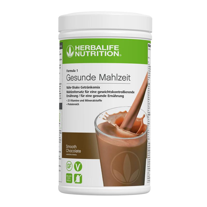 Herbalife Formula 1 Healthy Meal - Smooth Chocolate - vegan ingredients