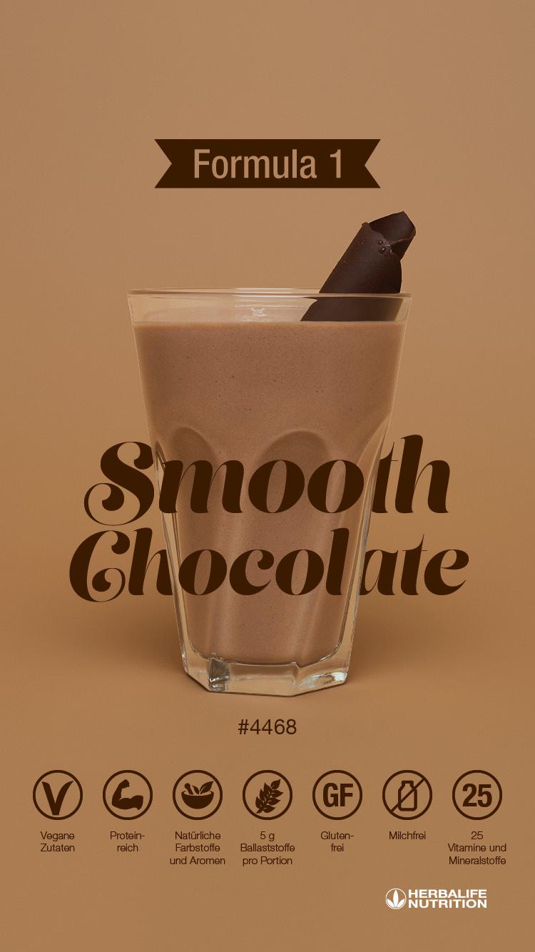 Herbalife Formula 1 sostituto del pasto – Cioccolato Delight - Ingredienti vegani