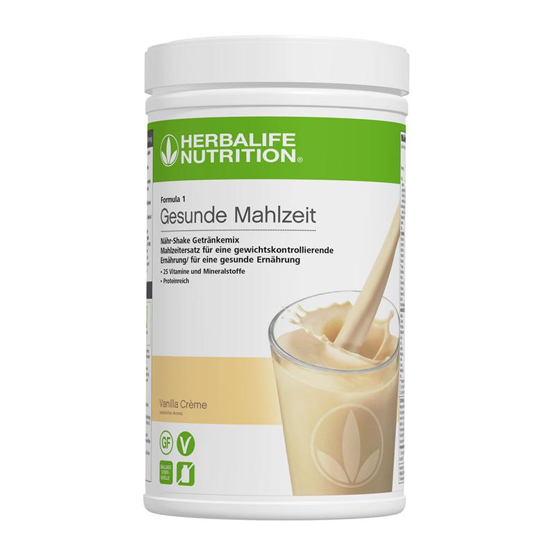 Herbalife Formula 1 Nähr-Shake Getränkemix 780g- Vanilla Crème - Vegane Zutaten