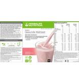 Herbalife Formula 1 Nähr-Shake Getränkemix Himbeere & Weiße Schokolade - Free From - Erbseneiweiß