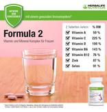 Complejo de vitaminas y minerales para mujer - Herbalife Formula 2