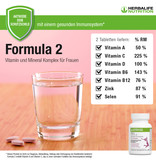 Vitamin & Mineral Complex Women - Herbalife Formula 2