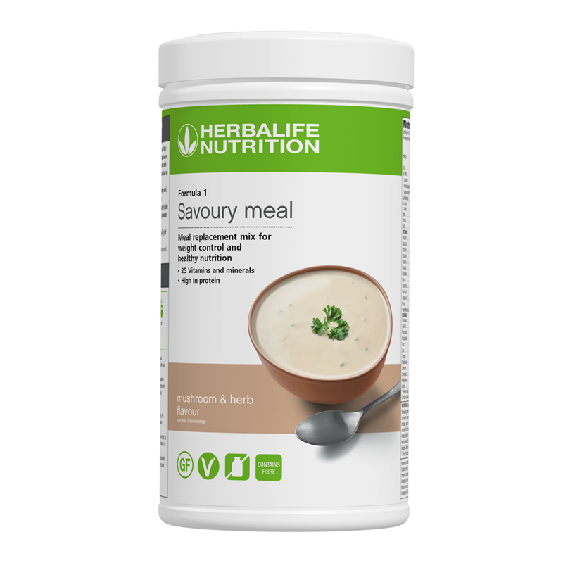 Herbalife Formula 1 - Savoury Meal - click on the picture for more information