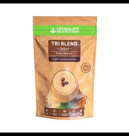 Herbalife Tri-Blend Select - Protein-Getränkemix Coffee Caramel 600 g– vegane Zutaten