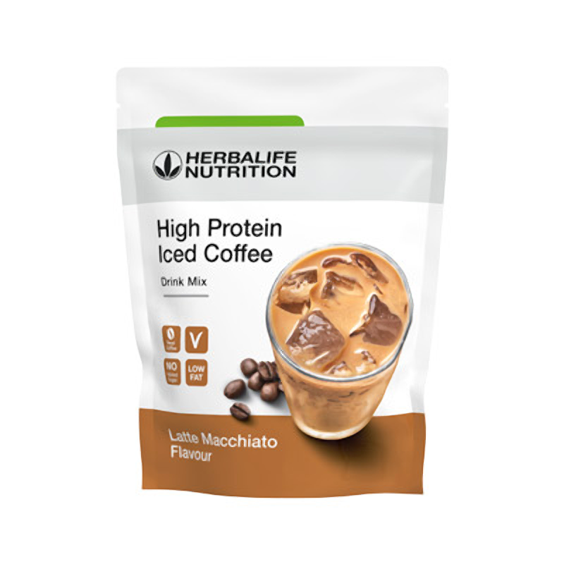 Herbalife High Protein Iced Coffee Latte macchiato 308 g