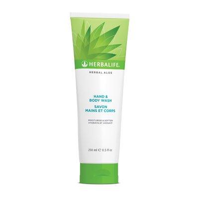 Herbalife Herbal-Aloe - Gel de baño para manos y cuerpo