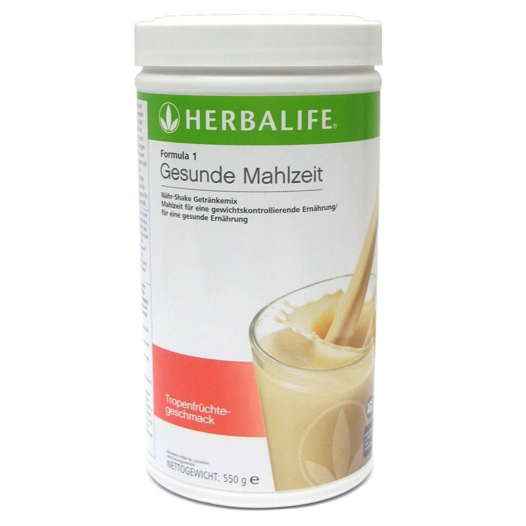 Herbalife Formula 1 Nähr-Shake Getränkemix - Tropenfrucht