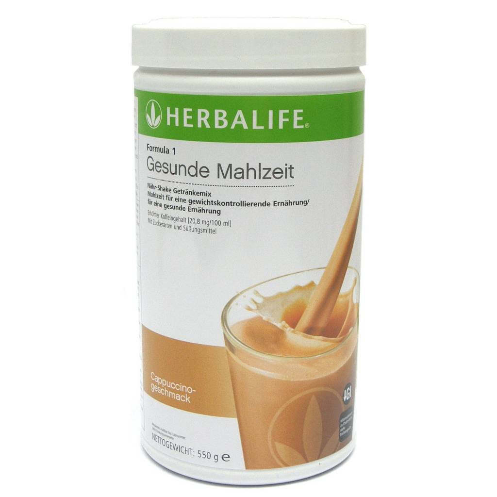 Herbalife Formula 1 Nähr-Shake Getränkemix 1171 - Cappuccino