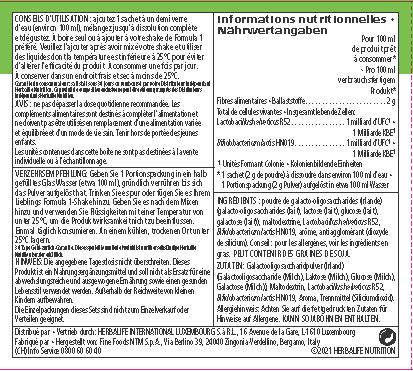 Herbalife Microbiotic Max - Food Supplement Vanilla 20 sachets