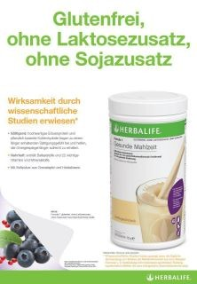 Herbalife Formula 1 Healthy Meal Vanilla – Free From - with pea protein
