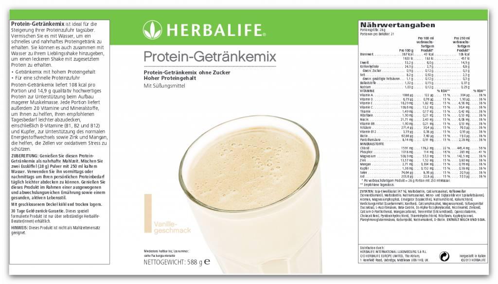 HERBALIFE Protein-Getränkemix Vanille online kaufen