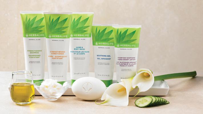 Cura della pelle con Herbalife ALOE
