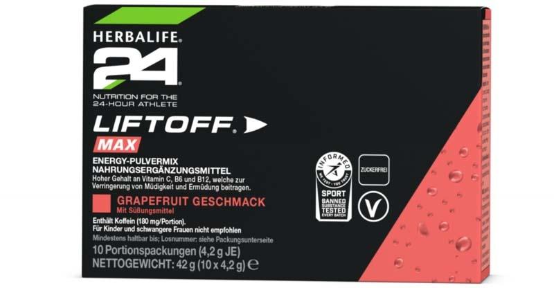 Herbalife 24 - LiftOff® Max Grapefruit Geschmack