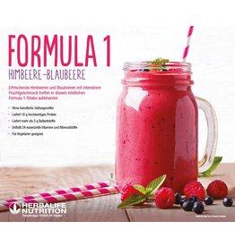 Herbalife Formula 1 Shake 2100 - Himbeere-Blaubeere