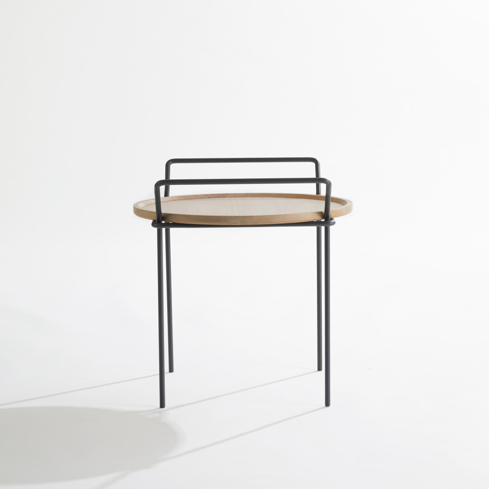 LABEL | Vandenberg Carry eikenhout met zwart frame