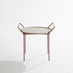 LABEL | Vandenberg Carry eikenhout met copper frame