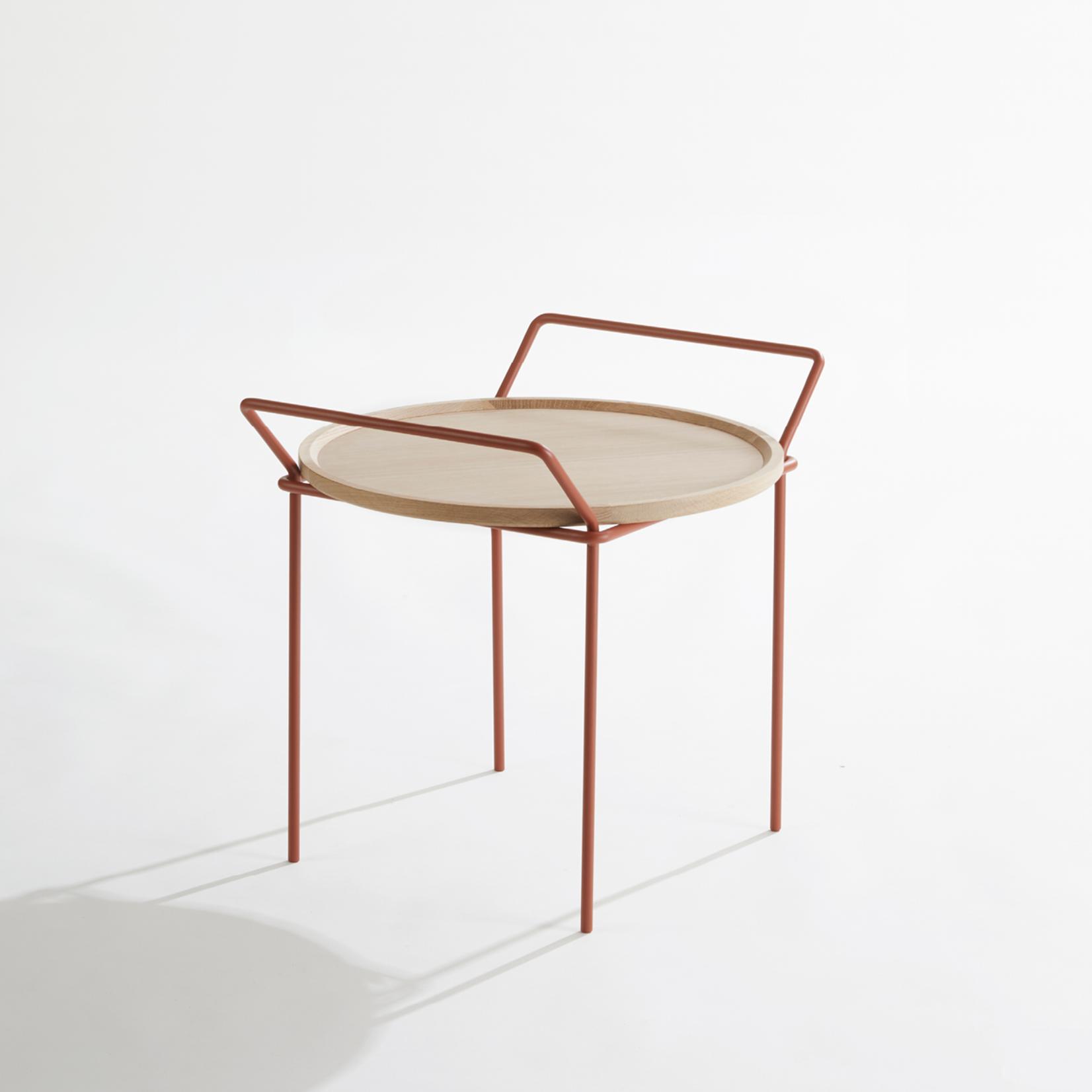 LABEL | Vandenberg Carry oak-wood with copper frame