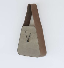 Look clock (wide under) - Nova Zembla Bison & Palm Grey wood
