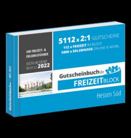 Freizeitblock Hessen Süd 2021/22 - Gültig bis 01.12.2022 - Gutscheinbuch Schlemmerblock -