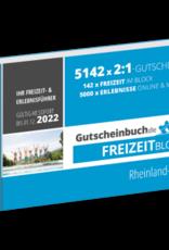 Freizeitblock Rheinland-Pfalz 2021/22 - Gültig bis 01.12.2022 - Gutscheinbuch Schlemmerblock -
