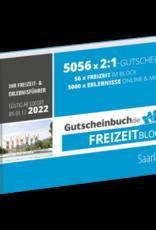 Freizeitblock Saarland 2021/22 - Gültig bis 01.12.2022 - Gutscheinbuch Schlemmerblock -