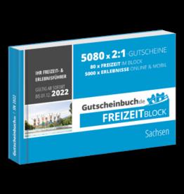 Freizeitblock Sachsen 2021/22 - Gültig bis 01.12.2022 - Gutscheinbuch Schlemmerblock -
