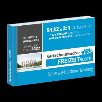 Freizeitblock Schleswig-Holstein/Hamburg 2021/22 - Gültig bis 01.12.2022 - Gutscheinbuch Schlemmerblock -
