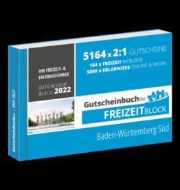 Freizeitblock Baden-Württemberg Süd 2021/22 - Gültig bis 01.12.2022 - Gutscheinbuch Schlemmerblock -