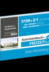 Freizeitblock Baden-Württemberg Nord 2021/22 - Gültig bis 01.12.2022 - Gutscheinbuch Schlemmerblock -