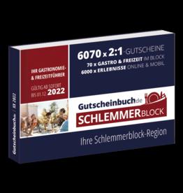 Schlemmerblock Ahrweiler/Euskirchen & Umgebung 2022 - Gutscheinbuch 2022