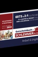 Schlemmerblock Ansbach & Umgebung 2022 - Gutscheinbuch 2022 -