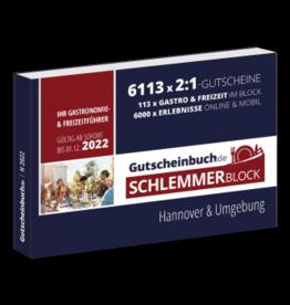 Schlemmerblock Hannover & Umgebung 2022 - Gutscheinbuch 2022 -