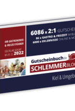 Schlemmerblock Kiel & Umgebung 2022 - Gutscheinbuch 2022 -